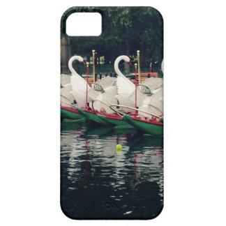 Boston Public Gardens Swan Boats iPhone SE/5/5s Case