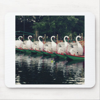 Boston Public Gardens Swan Boats Mouse Pad