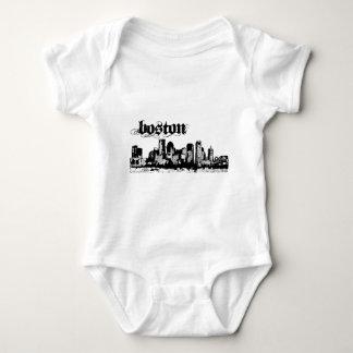 Boston puso para su ciudad body para bebé