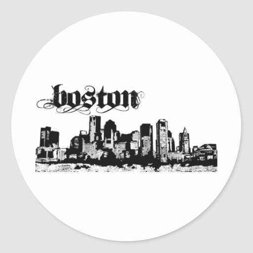 Boston puso para su ciudad etiquetas