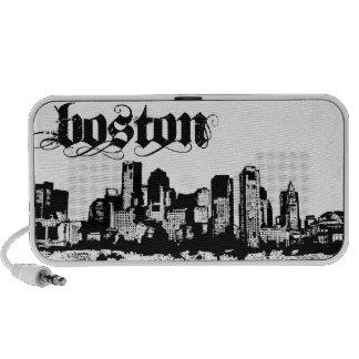 Boston puso para su ciudad portátil altavoces