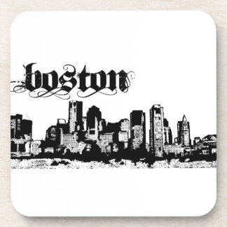 Boston Put on for your city Beverage Coaster