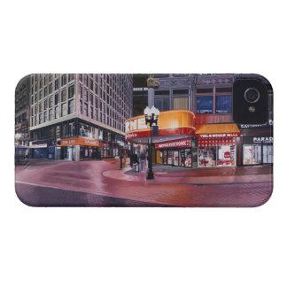Boston que cruza céntrica carcasa para iPhone 4 de Case-Mate