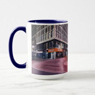 Boston que cruza céntrica taza