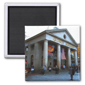 Boston Quincy Market 2 Inch Square Magnet