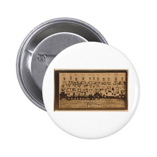 Boston Red Sox 1913 2 Inch Round Button