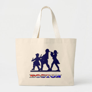 Boston Red White and Blue Bags