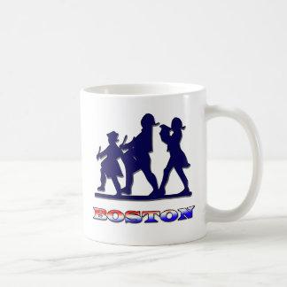 Boston Red White and Blue Coffee Mug