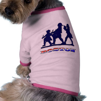 Boston Red White and Blue Dog Clothes