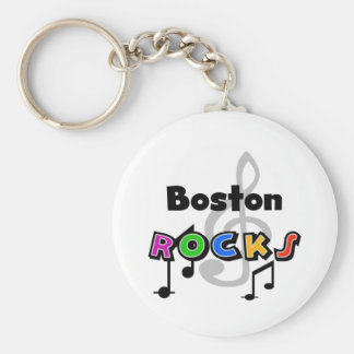 Boston Rocks Keychain