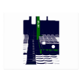 Boston - Rows Postcard