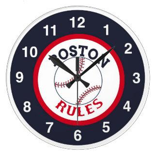 Boston Rules Baseball Clock