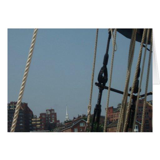 Boston Sailing Card
