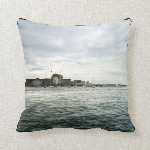 Boston Seafront Pillow