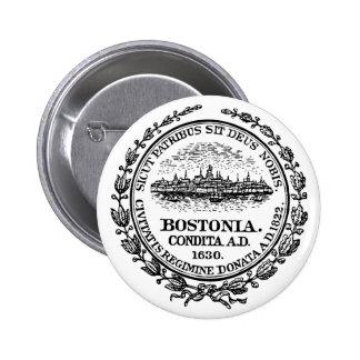 Boston Seal Pinback Button
