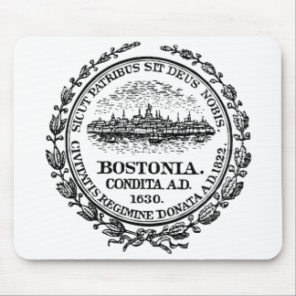 Boston Seal Mouse Pad