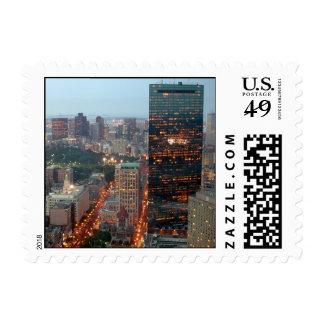 Boston Sello Postal