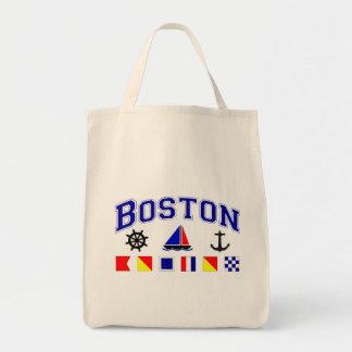 Boston Signal Flags Canvas Bag