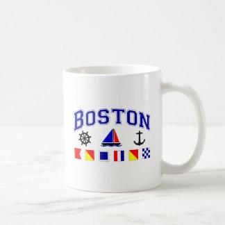 Boston Signal Flags Coffee Mug