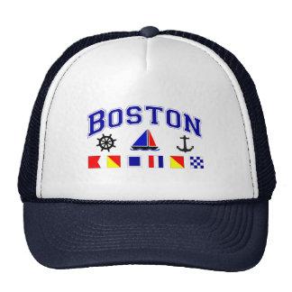 Boston Signal Flags Hat