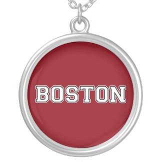 Boston Silver Plated Necklace