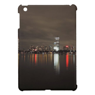 Boston Skyline at Night Cover For The iPad Mini