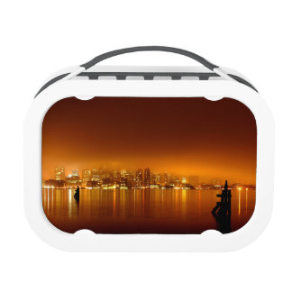 Boston Skyline at Night Replacement Plate