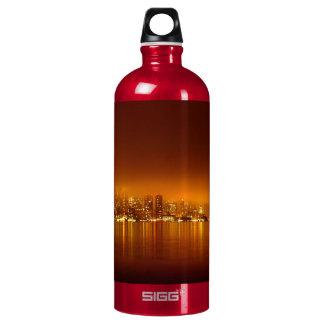 Boston Skyline at Night SIGG Traveler 1.0L Water Bottle