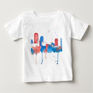 Boston Skyline Baby T-Shirt