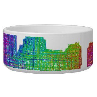 Boston skyline bowl