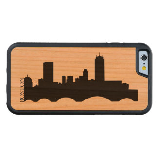 Boston Skyline Carved® Cherry iPhone 6 Bumper Case