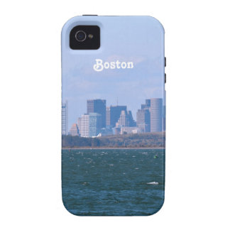 Boston Skyline Vibe iPhone 4 Cover
