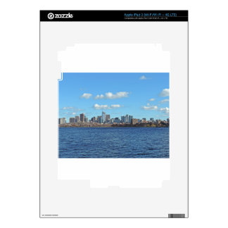 Boston Skyline Decal For iPad 3