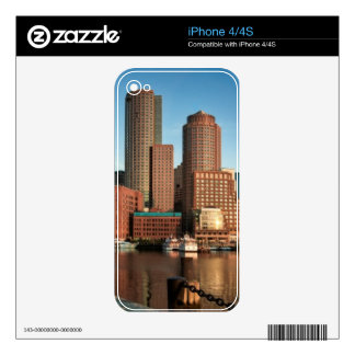Boston skyline decals for the iPhone 4S