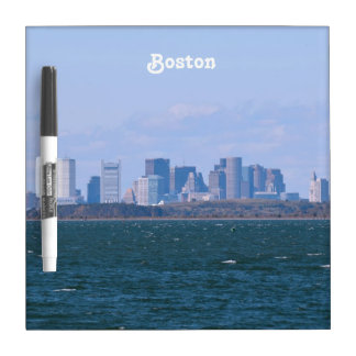 Boston Skyline Dry Erase Whiteboards