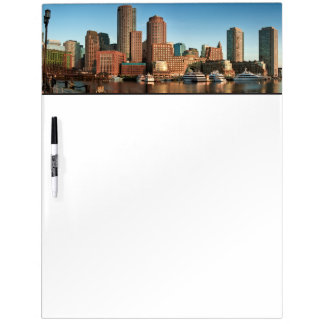 Boston skyline Dry-Erase whiteboard