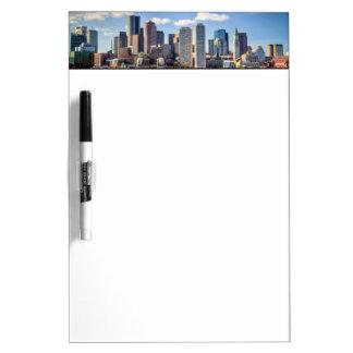 Boston skyline from waterfront Dry-Erase board