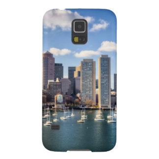 Boston skyline from waterfront galaxy s5 cover