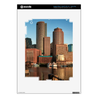 Boston skyline iPad 3 decal