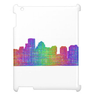 Boston skyline iPad covers