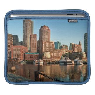 Boston skyline iPad sleeve