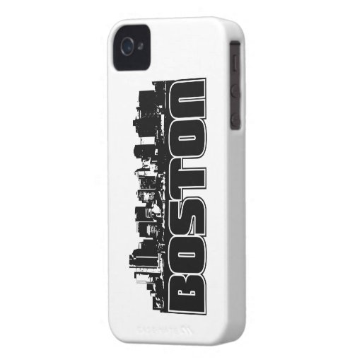 Boston Skyline iPhone 4 Case-Mate Cases