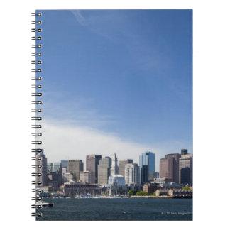 Boston Skyline, Massachusetts Notebook
