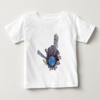 boston skyline mini planet baby T-Shirt