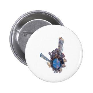 boston skyline mini planet 2 inch round button