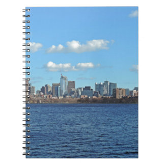 Boston Skyline Notebook