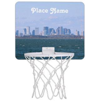 Boston Skyline Mini Basketball Hoop