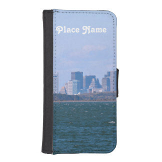 Boston Skyline iPhone 5 Wallet Cases