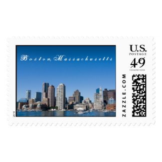 Boston Skyline Postage