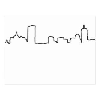 Boston - Skyline Postcard